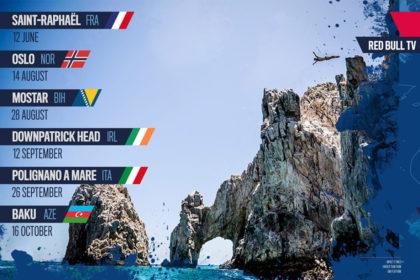RedBull Cliffdiving 2021